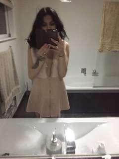Mini dress or open look