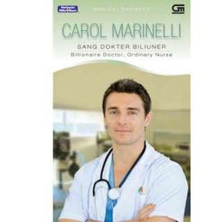 Ebook Sang Dokter Biliuner (Billionaire Doctor, Ordinary Nurse) - Carol Marinelli