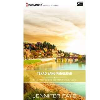 Ebook Tekad Sang Pangeran (The Prince's Christmas Vow) - Jennifer Faye