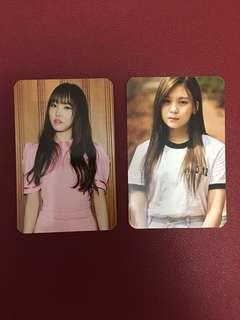 GFRIEND Parallel: Yuju & Umji Photocards