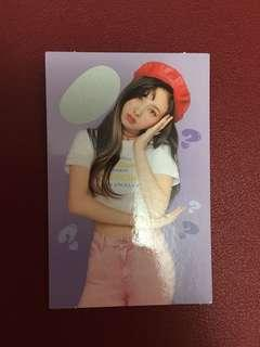 """TWICE Nayeon """"What Is Love?"""" Special Photocard"""