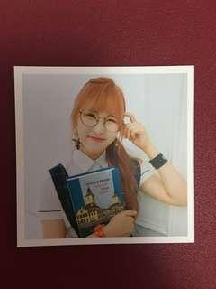 "Pristin Yehana ""Schxxl Out"" Special Photocard"