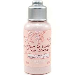 L'Occitane Cherry Blossom Shimmering Body Lotion