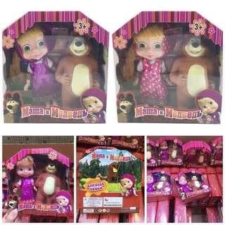 🚚 瑪莎與熊玩偶組