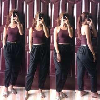 Sale 150🌿Garterized Black Pants