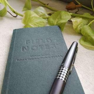 Field Notes End Paper edition (Pack of two notebooks) - add on page.