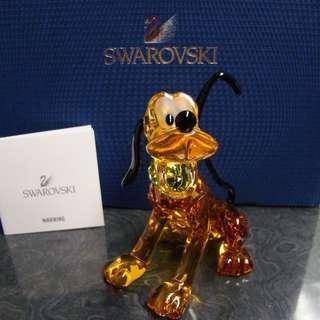SWAROVSKI DISNEY PLUTO DOG RETIRED 2014 #1119964 NEW IN BOX