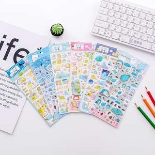 🚚 Ready Stocks! - San-X Sumikko Gurashi & JinbesanCute Stickers @ $2.50 per pack or All 6 designs for $12 only!!!
