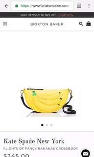 Preloved Kate spade fancy banana crossbody bag