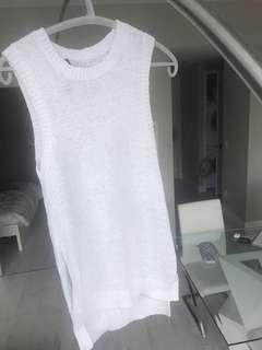 360Sweater Knit Tank (Size XS)