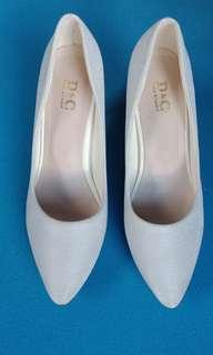 High heels White made in Singapore
