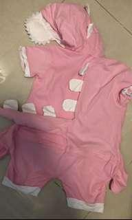 🍒Baby dragon suit costume for 2 - 3 yrs old