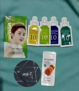 Korean skin care sampler bundle