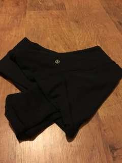 Lulu full length leggings size 6