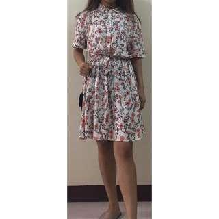 Cute Floral Dress from MANGO