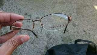 Authentic Ann Klein 5001 Mocha Prescription Eyeglasses