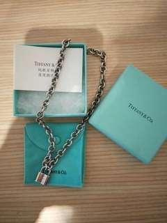 Tiffany &Co.1837鎖頭項鏈