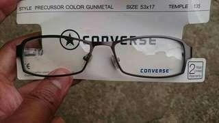 Authentic Converse Gunmetal Prescription Eyeglasses