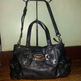 Original Michael kors Mk Gansevoort dual sling leather bag