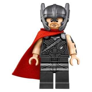 Lego Thor with red Cape