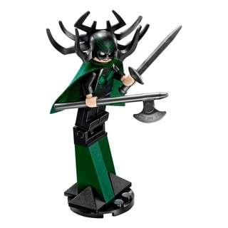 Lego Hela + Accessories
