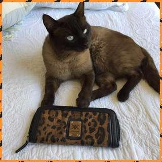 Leopard Print Kardashian Kollection Wallet