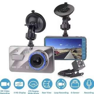 New 1080p Car Camera Front & Rear with Reverse Function