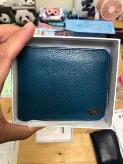 Porter International Wallet Blue
