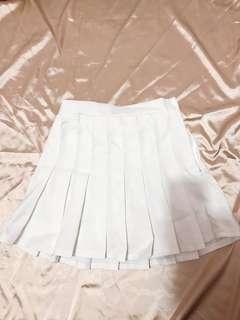 🚚 韓妞必備!白色網球裙