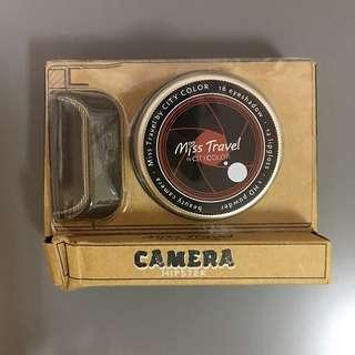 🚚 全新👍🏻CITY COLOR 愛旅行 玩美相機彩妝組 內含 HD蜜粉 眼影 口紅