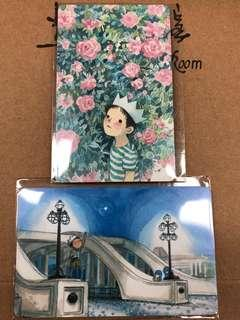 Limited edition brand new Ah Guo Delighting Ideas design Ezlink cards for sale .