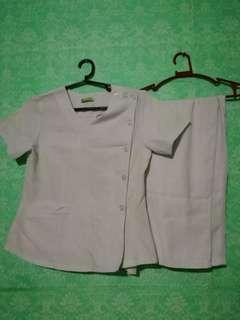 Nurse uniform pair