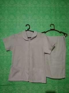 Nurse uniform pair size small