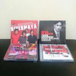 Rico Blanco / Rivermaya CD Set