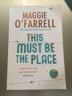 🚚 This must be the place by Maggie O'Farrell