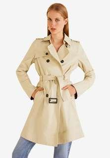 Mango Double Breasted Trench (New)