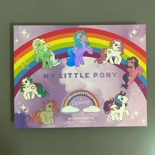🚚 全新 現貨👍🏻美國 colourpop x my little pony 12色眼影盤 聯名限量