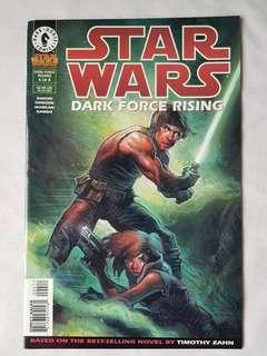 Vintage Star Wars Dark Force Rising Comic by Dark Horse Comics