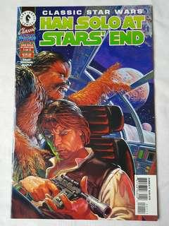 Vintage Star Wars Han Solo at Stars' End by Dark Horse Comics