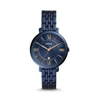 Fossil  Jacqueline Stainless Steel Analog Ladies Watch