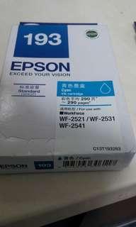 Epson193青色墨水一盒