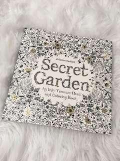 Secret Garden Treasure Hunt Coloring Book