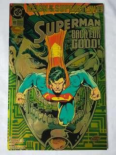 "Vintage Superman ""Back for Good!""Comic by DC Comic"