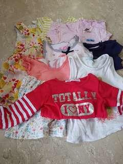 Girl tops and dress