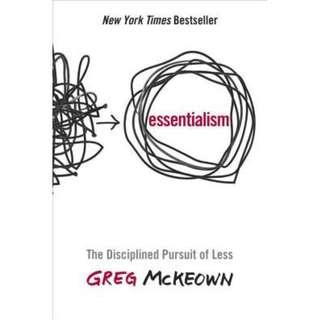 [Ebook] Essentialism: The Disciplined Pursuit of Less by Greg McKeown