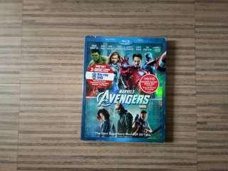Avengers Blu-Ray Disc DVD CD 2 Discs Combo Pack