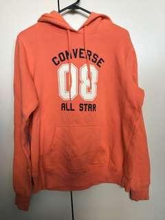 Orange Converse Hoodie