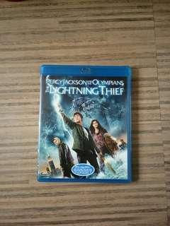 Percy Jackson and The Lightning Thief Blu-Ray Disc DVD CD