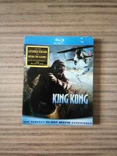 King Kong Blu-Ray Disc DVD CD