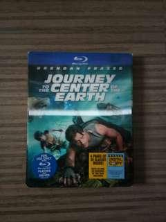 Journey to The Center of The Earth DVD BLU-RAY 3D cd